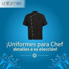 Al igual que en los buenos platos... Los detalles están a su elección señor chef. #UniformesparaTodo #Restaurantes #Colombia #Chef #Uniformes www.uniformesparatodo.com