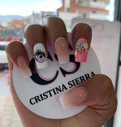 Nail Designs, Hair Beauty, Work Nails, Pretty Gel Nails, Cute Nails, Short Nail Manicure, Nail Manicure, Disney Nails Art, Nail Design
