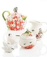 Edie Rose by Rachel Bilson Serveware, Hydrangea Collection
