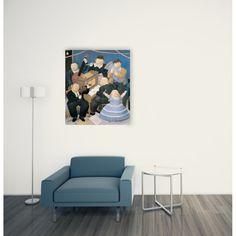 BOTERO - I Musicisti 93x108 cm #artprints #interior #design #art #print #iloveart #ArteModerna #ModernArt  Scopri Descrizione e Prezzo http://www.artopweb.com/EC21620