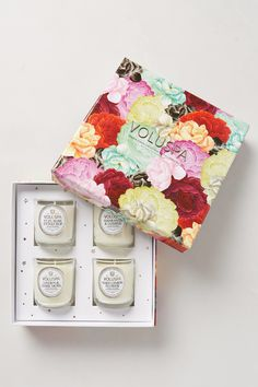 The romantic gift of scented candles
