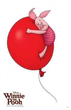 Piglet was the character I played in a play when in the fourth grade and I had to fall and pop a balloon.
