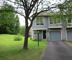 Zestimate® Home Value: $187,581. Huge Reduction~ This Home is being sold below Market Value!! Great opportunity to own this 2 bedroom end unit Townhouse in desirable Knox Woods. Living room features a heatilator wood burning fireplace w/mantle and cathedral ceilings. Kitchen offers dishwasher & range w/oven. The bright dining area has slider to spacious backyard. The extra bonus room could be office or storage. Newer roof. A skip to the pool & tennis courts. Don't miss ...