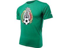 adidas Youth Mexico Country Crest Tee  Green