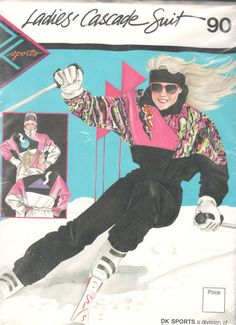 1980s Daisy Kingdom 90 Misses Cascade Suit Ski by mbchills on Etsy
