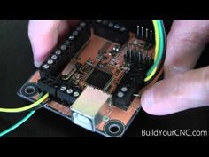 Wiring the CNC Motion Electronics with the USB Interface