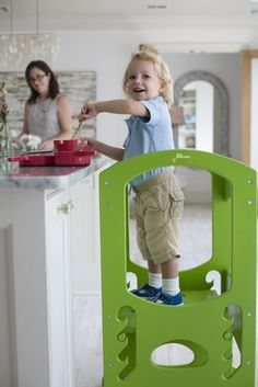 The Learning Tower Kitchen Step Stool for Kids