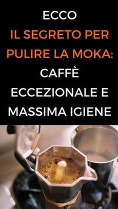 #rimedinaturali #casa #moka #animanaturale Moka, Health And Beauty, Stove, Coffee Maker, Kitchen Appliances, Coffee Maker Machine, Diy Kitchen Appliances, Coffee Percolator, Home Appliances