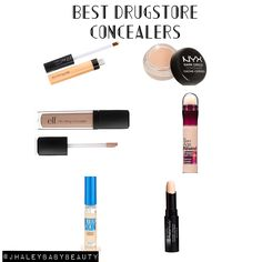 Best Drugstore Concealers! @JHaleyBaby Beauty