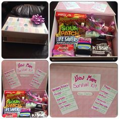 New Mom Survival Kit! Great DIY Baby Shower Gift for First Time Moms!
