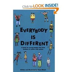 This is a great book for both kids and adults - it's an easy read and sheds a lot of light on what autism is and how it affects the family unit.