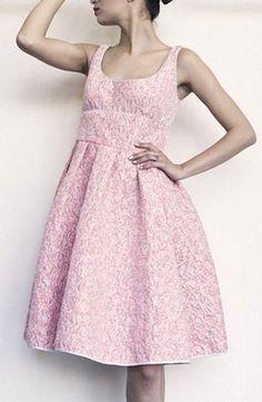 Giles Pink Lurex Jacquard S/S 2013