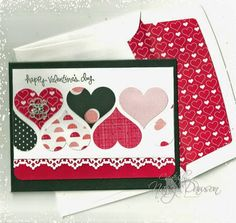 Latenight Stamper's Weekly Challenge Blog: February Challenge - Valentines