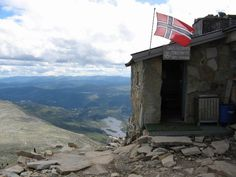 Top of Gaustatoppen, been there twice..25-07-1979 and 25-07-2008