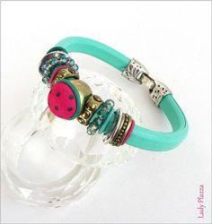 leather blue women bracelet Bracelet Cuir bleu-turquoise Bracelet Cuir, Pandora Charms, Bracelets, Charmed, Turquoise, Leather, Blue, Etsy, Jewelry