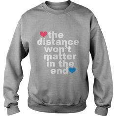 Distance Wont matter in the End White with Hearts Hoodies VMyomp #gift #ideas #Popular #Everything #Videos #Shop #Animals #pets #Architecture #Art #Cars #motorcycles #Celebrities #DIY #crafts #Design #Education #Entertainment #Food #drink #Gardening #Geek #Hair #beauty #Health #fitness #History #Holidays #events #Home decor #Humor #Illustrations #posters #Kids #parenting #Men #Outdoors #Photography #Products #Quotes #Science #nature #Sports #Tattoos #Technology #Travel #Weddings #Women