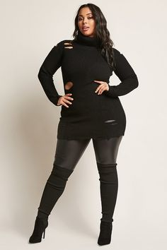 Forever 21 is the authority on fashion & the go-to retailer for the latest trends, styles & the hottest deals. Shop dresses, tops, tees, leggings & more! Thick Girl Fashion, Black Women Fashion, Curvy Fashion, Plus Size Fashion, Womens Fashion, Curvy Outfits, Plus Size Outfits, Trendy Outfits, Fashion Outfits