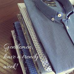 Here's to a trendy week Gentlemen!  #menswear #mensstyle #mensfashion #trendy #trend #shirts #print #classy #classymen #dapper #dappermen #gentlemen #formals #formal #work #mumbai #india #delhi #luxury #ootd #lookbook #monday #instagood #instalike