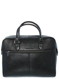 d60bed97e3 Sacoche business en cuir vachette Arthur & Aston, Achat Vente de sacoches  en cuir noir