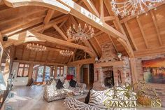 Case study of a magnificent, luxurious home by #Oakmasters #Oak #Construction