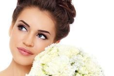wedding makeup for brunettes with blue eyes - Google Search