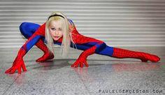 Gwen Stacy Spider-Girl cosplay (Kerraldine Holland)