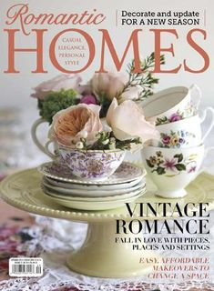 Get your digital subscription/issue of Romantic Homes -September 2014 Magazine on Magzter and enjoy reading the magazine on iPad, iPhone, Android devices and the web. Interior Stylist, Interior Design Tips, Fall Home Decor, Autumn Home, Interiors Magazine, Romantic Homes, Romantic Cottage, Cottage Chic, Vintage Romance