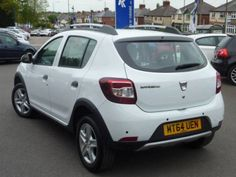 Used 2015 reg) White Dacia Sandero Stepway TCe Laureate for sale on RAC Cars Nissan Infiniti, Cars For Sale, Automobile, Samsung, Vehicles, Dashboards, Dacia Sandero, Car