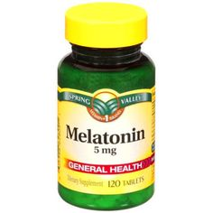 Spring Valley 5mg Melatonin - 120ct FREE SHIPPING BEST PRICE! #SpringValley