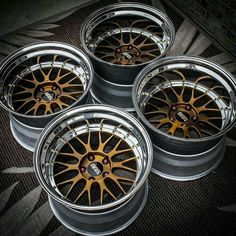 BBS LM's converted into deep dish Jdm Wheels, Aftermarket Wheels, Truck Wheels, Chrome Wheels, Rims And Tires, Rims For Cars, Wheels And Tires, E60 Bmw, Bmw M5