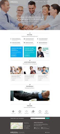 #WordPress Theme für #HR Rekrutierung