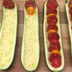 Food Discover Zucchini pizza the pizza of the summer. Veggie Recipes, Vegetarian Recipes, Dinner Recipes, Cooking Recipes, Healthy Recipes, Pizza Recipes, Zucchini Pizzas, Recipe Zucchini, Grilled Zucchini