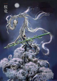 View an image titled 'Divine Dragon Art' in our Sekiro: Shadows Die Twice art gallery featuring official character designs, concept art, and promo pictures. Soul Saga, Software Art, Soul Tattoo, Dark Souls Art, Dark Blood, Game Concept Art, Samurai Art, Monster Design, Dc Comics Art