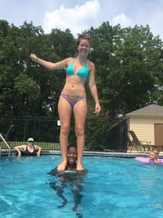 Stunting in the pool