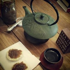 Tea is instant wisdom, just add water. (Well, and maybe a hot buttered biscuit with homemade apple butter.)