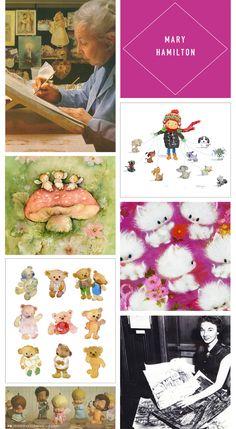 Love this lady's cards. Mary Hamilton Hallmark Artist Celebrates 60 years | thinkmakeshareblog.com