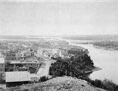 The LeBreton Flats, seen from Parliament Hill, Ottawa, [ca. Off The Map, Urban Landscape, Photo Archive, Ottawa, Ontario, Paris Skyline, Black And White, History, City