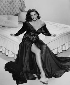 Jane Russell in 'The Revolt of Mamie Stover', 1956.