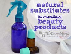 Most conventional beauty products are not healthy. These homemade substitutes will save money, and improve your health.