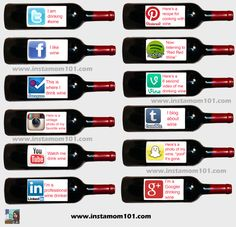 Social Media Explained Through Wine