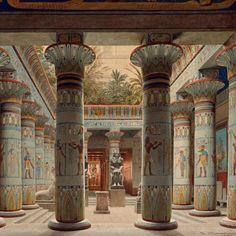 Ancient Egyptian Clothing, Ancient Egypt Art, Old Egypt, Ancient Greece, Egyptian Temple, Luxor Temple, Ancient Egyptian Architecture, Architecture Old, Egyptian Beauty