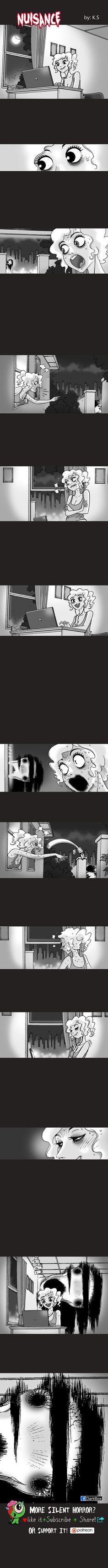 nuisance EN by SilentHorrorComic