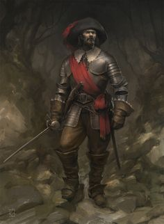 Officer of a Spanish Tercio, XVI Century A.D., Jaime Martinez on ArtStation at https://www.artstation.com/artwork/PP364