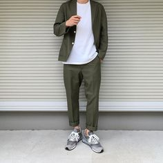 Look Fashion, Daily Fashion, Mens Fashion, Fashion Outfits, Fashion Menswear, Uniqlo Style, Stil Inspiration, Uniqlo Men, Look Street Style