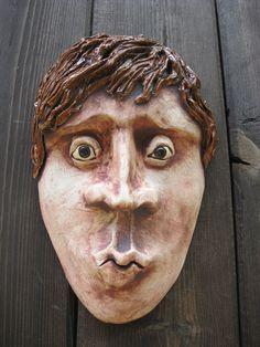 Kiss me Quick ceramic wall mask art  $44  https://www.etsy.com/listing/76977900/kiss-me-quick-ceramic-mask