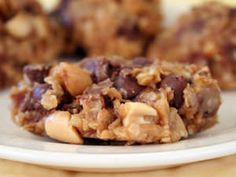 Do you like chewy chocolate chip cookies?  Chocolate Chip Oat No-Bake Cookies Try it: www.teelieturner.com  #recipe