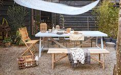 DIY | houten tuintafel
