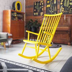"""My """"new"""" rocking chair…"""