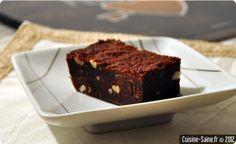Brownies aux amandes sans gluten
