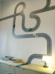 Fun wall idea!